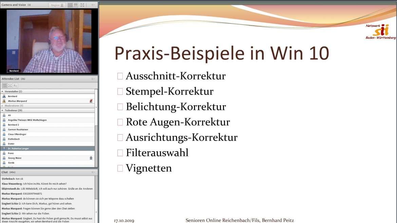 Webinar mit Bernhard Peitz