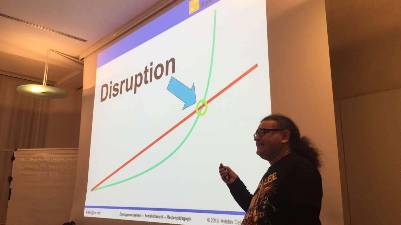 Aytekin Celik spricht über Disruption